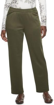 Croft & Barrow Women's Pull-On Knit Pants