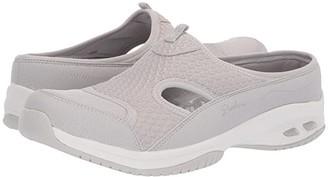 Skechers Commute (Light Grey) Women's Clog/Mule Shoes