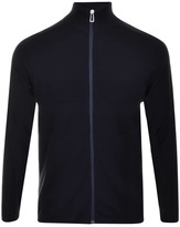 Paul Smith Full Zip Jumper Navy