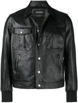 Neil Barrett classic leather jacket