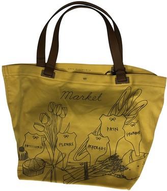 Anya Hindmarch Yellow Cotton Travel bags