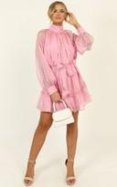 Showpo Whitney Dress in pink - 6 (XS) The Pastel Edit