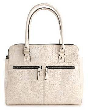 Kelly & Katie Clair Double Zip Satchel