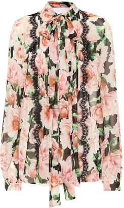 Costarellos Floral blouse