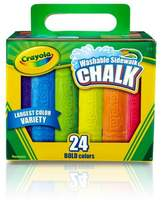 Crayola ; Sidewalk Chalk Washable 24ct