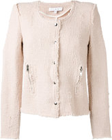 IRO 'Agnette' tweed smart jacket - women - Cotton - 36