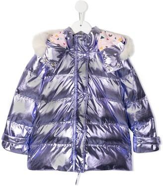 Velveteen Tilda puffer coat