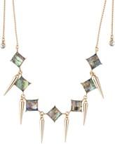 ABS by Allen Schwartz Abalone Choker Necklace, 24
