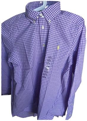 Ralph Lauren Purple Cotton Tops