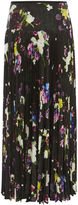 Karen Millen Floral Pleated Maxi Skirt