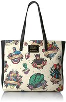 Loungefly Marvel Tattoo Flash Tote