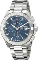Tag Heuer Men's CAY2112.BA0925 Analog Display Swiss Automatic Silver Watch