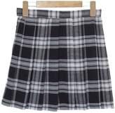 QIYUN.Z Japanese School Style Classic Plaid Pleated High Waist Women Uniforms Skirts Jupes