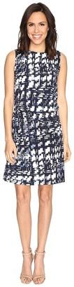 Ellen Tracy Women's Blouson Dress