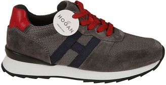 Hogan Logo Patch Sneakers