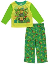 "Teenage Mutant Ninja Turtles TMNT Little Boys' Toddler ""Ninja Dudes"" 2-Piece Pajamas"