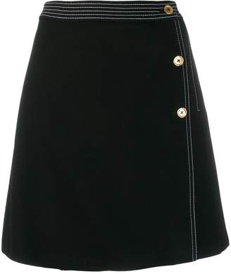 Tory Burch A-line short skirt