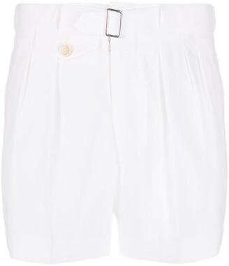 Maison Margiela pleat detailed shorts