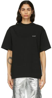 we11done Black Logo T-Shirt