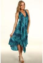 BCBGMAXAZRIA - Hisa Asymmetrical Halter Dress