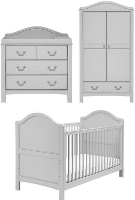 East Coast Nursery Toulouse Cot Bed, Dresser and Wardrobe