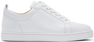 Christian Louboutin White Louis Junior Sneakers