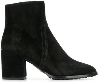 Tod's zipped ankle boots