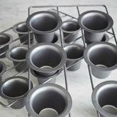 Chicago Metallic Nonstick Mini Popover Pan, 12 Count
