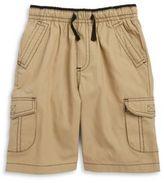 Mick Mack Boys Elasticized Khaki Shorts