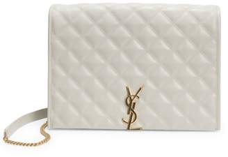 Saint Laurent Small Quilted Chain Shoulder Bag