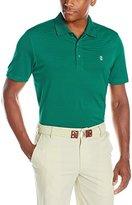Izod Men's Performance Golf Greenie Stripe Polo