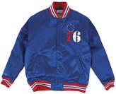 Mitchell & Ness Men's Philadelphia 76ers Satin Jacket