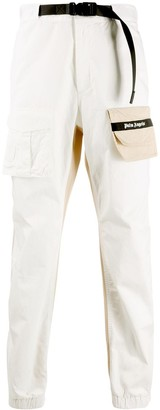 Palm Angels Two-Tone Cargo Trousers