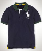 Polo Ralph Lauren Polo, Boys Short Sleeve Big Pony Polo Shirt