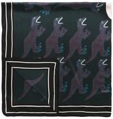 Paul Smith 'Dinosaur' print scarf