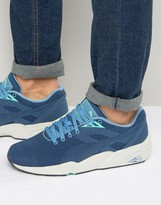 Puma R698 Knit Mesh Sneakers