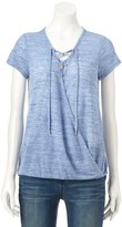 Juicy Couture Women's Faux-Wrap Tee