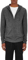 Barneys New York Men's Cashmere-Linen Zip-Front Hoodie