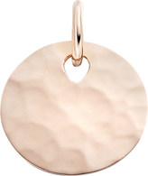 Monica Vinader Ziggy 18ct rose gold-plated vermeil round pendant