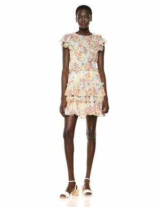 Rebecca Taylor Women's Sleeveless Ruffle Dress