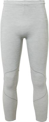 Lululemon Surge Tight 22 Mesh-Panelled Nulux Tights - Men - Gray
