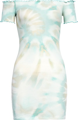 Love, Fire Off The Shoulder Body-Con Dress