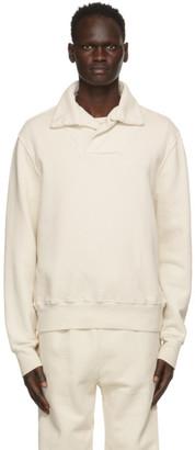 LES TIEN Off-White Yacht Sweatshirt
