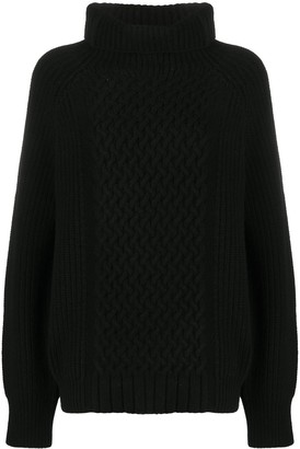 Haider Ackermann Ribbed-Knit Turtleneck Jumper