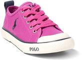 Ralph Lauren Canvas Low-Top Sneaker