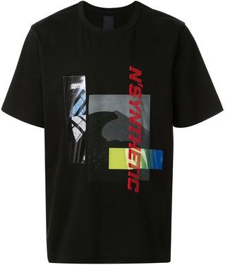 Juun.J digital patchwork print T-shirt