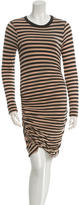 A.L.C. Striped Long Sleeve Dress