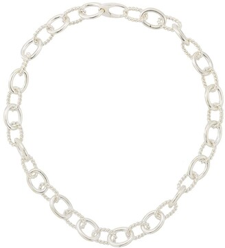 Isabel Lennse Twisted Chunky Chain Necklace