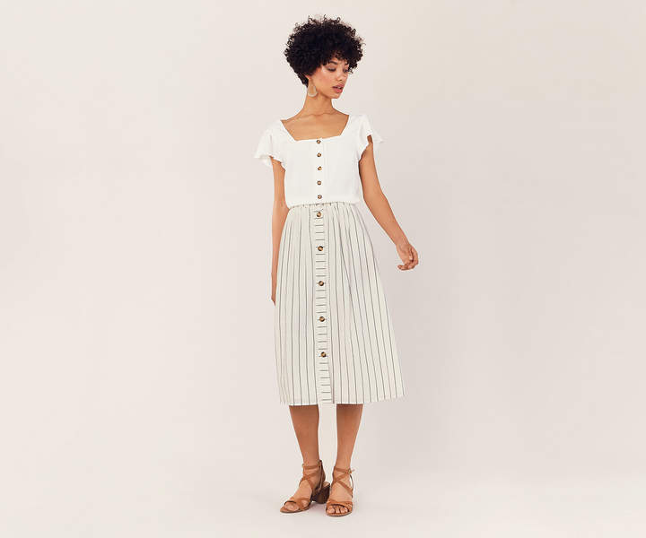 63247753e Oasis Midi Skirt - ShopStyle UK