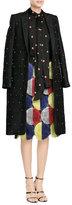 Marco De Vincenzo Embellished Jacquard Coat